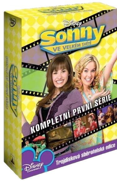 SONNY VE VELKÉM SVĚTĚ - 1. SÉRIE - DVD