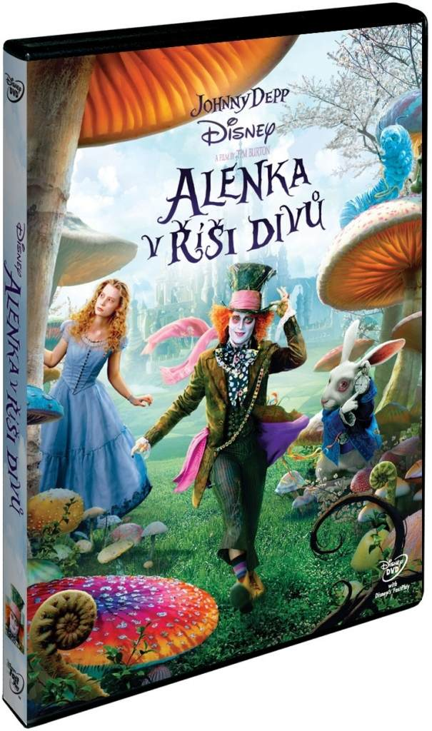 Alenka v říši divů (2010) - DVD