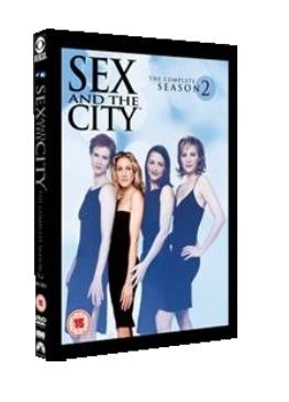 Sex ve městě: série 2 - 3 DVD (CZ titulky)
