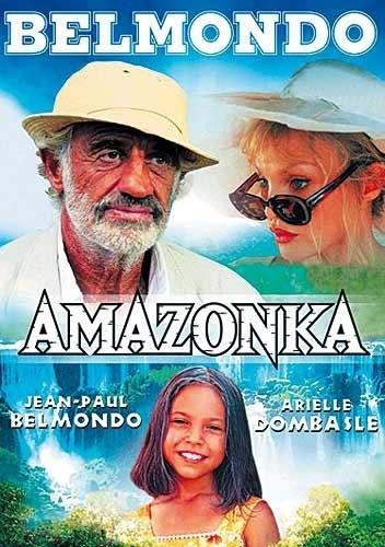 AMAZONKA (Belmondo) - DVD pošetka