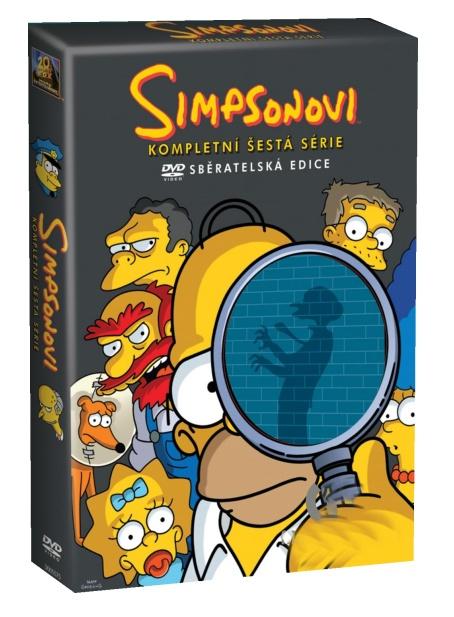 Simpsonovi 6. série - DVD