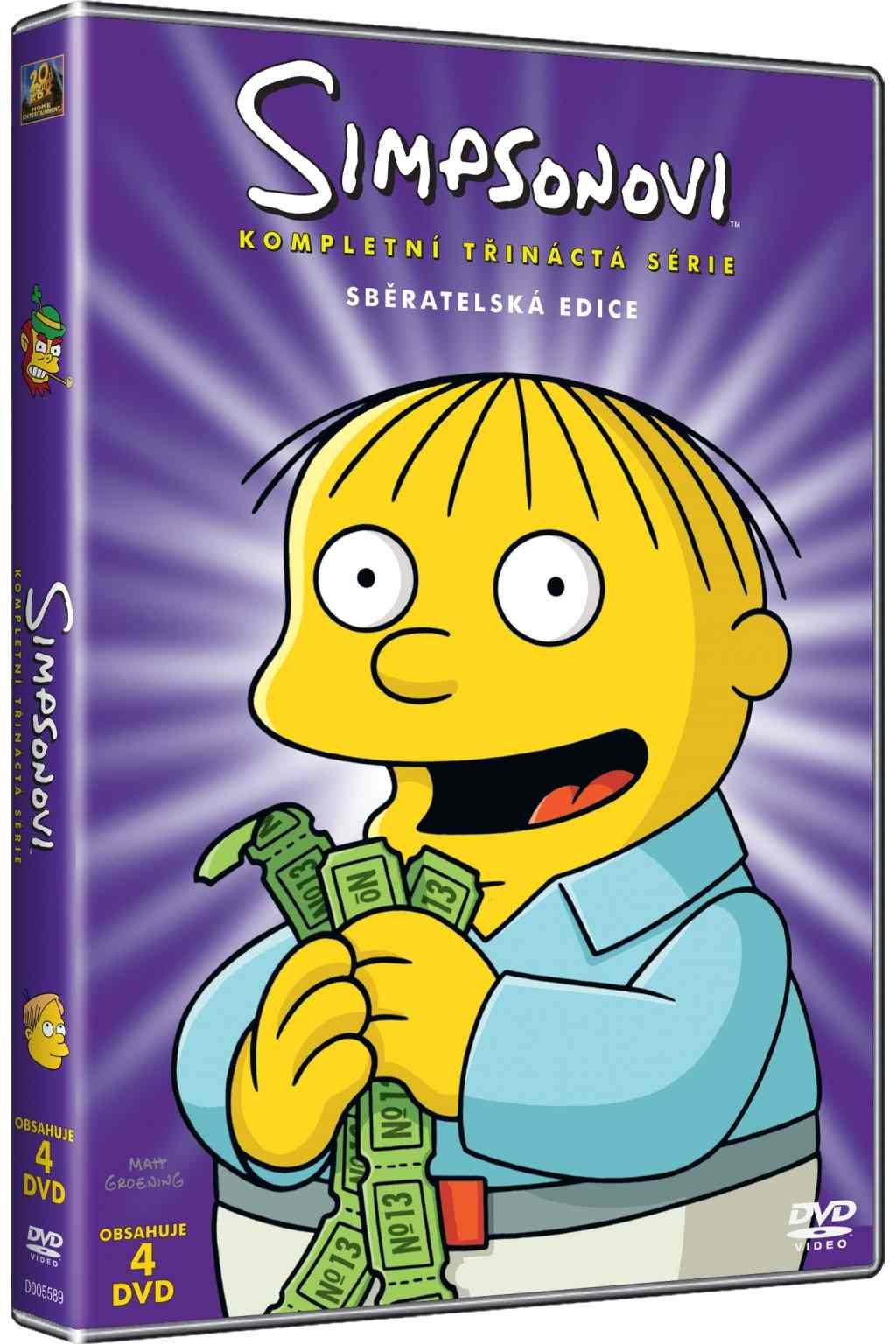 Simpsonovi 13. série - DVD