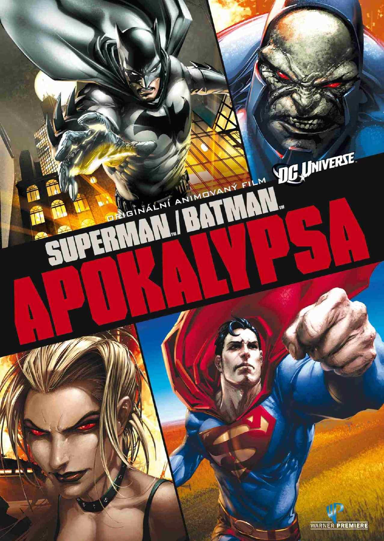 Superman / Batman - Apokalypsa - DVD