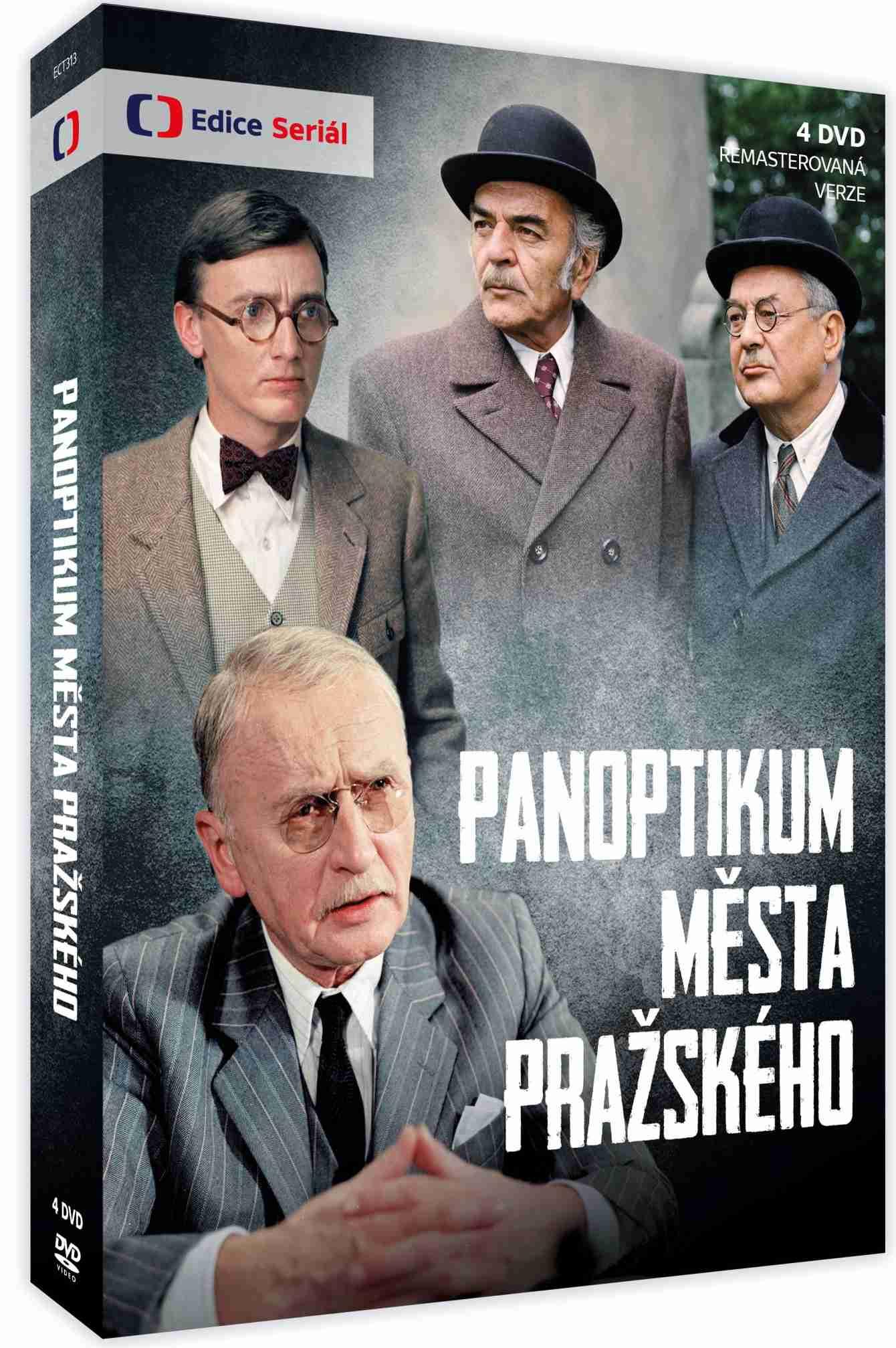 Panoptikum Města pražského (remasterovaná verze) - 4 DVD