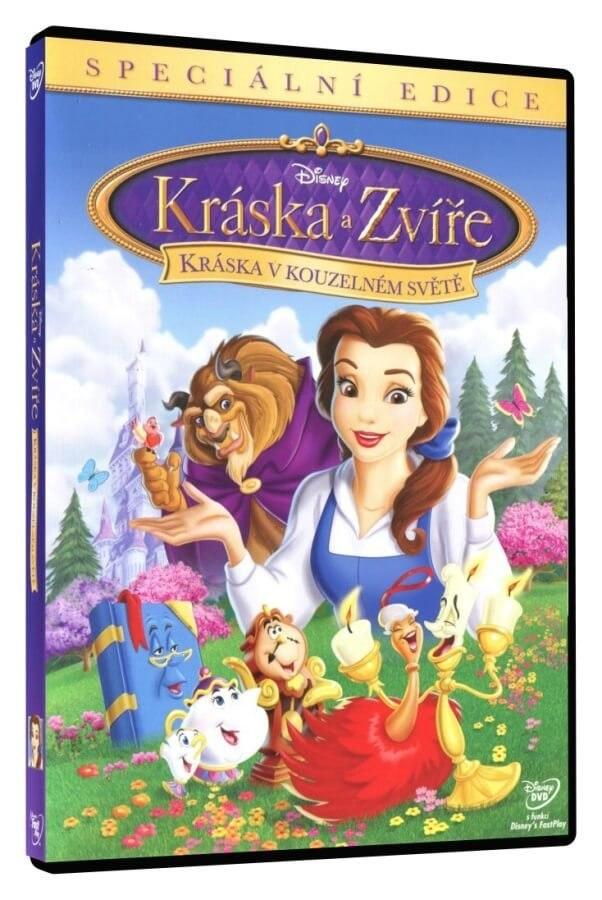 Kráska a zvíře: Kráska v kouzelném světě - DVD