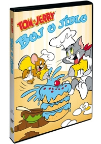 TOM A JERRY: BOJ O JÍDLO - DVD
