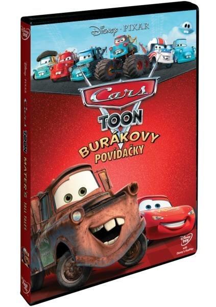 CARS TOON: BURÁKOVY POVÍDAČKY - DVD