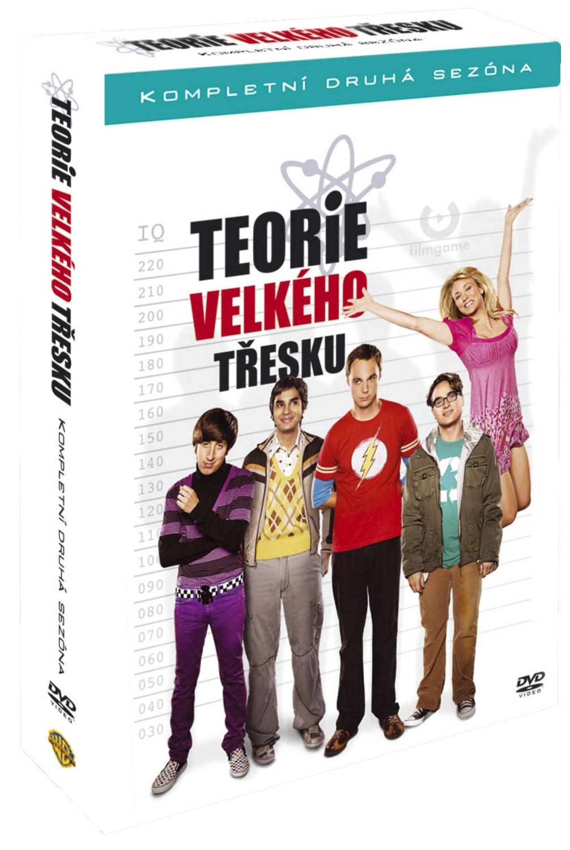 TEORIE VELKÉHO TŘESKU 2. SEZÓNA - 4 DVD