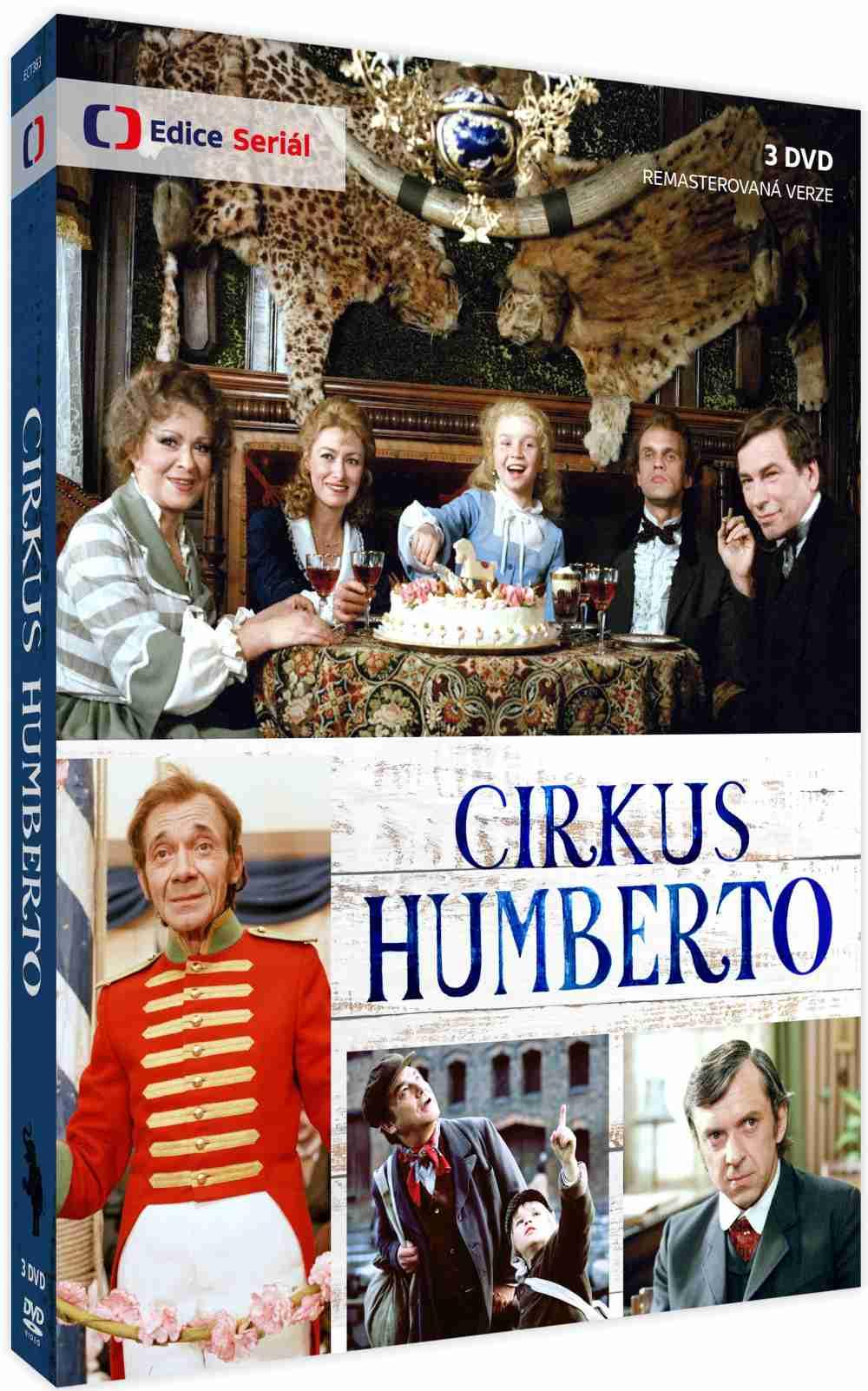 Cirkus Humberto (remasterovaná verze) - 3DVD