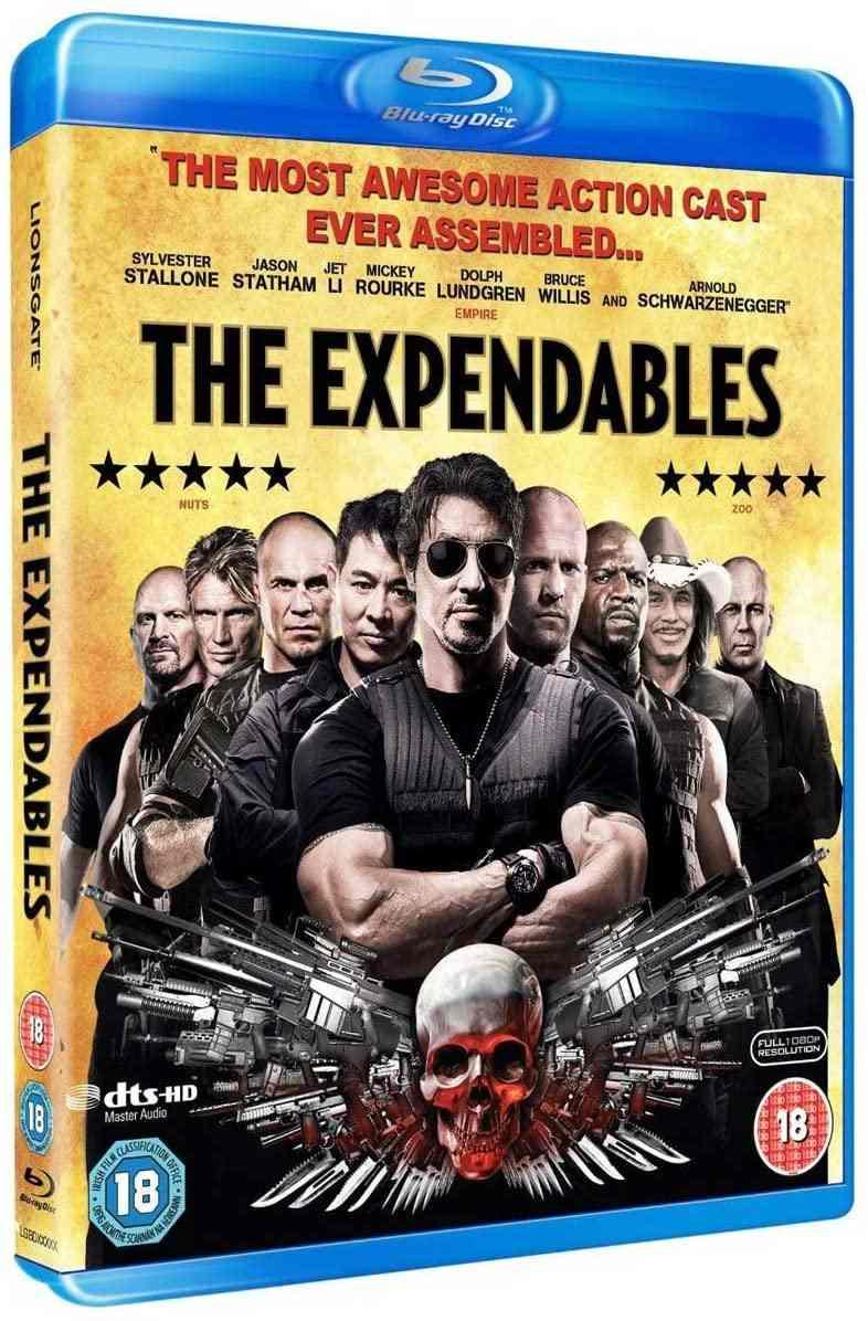 EXPENDABLES: POSTRADATELNÍ - DVD