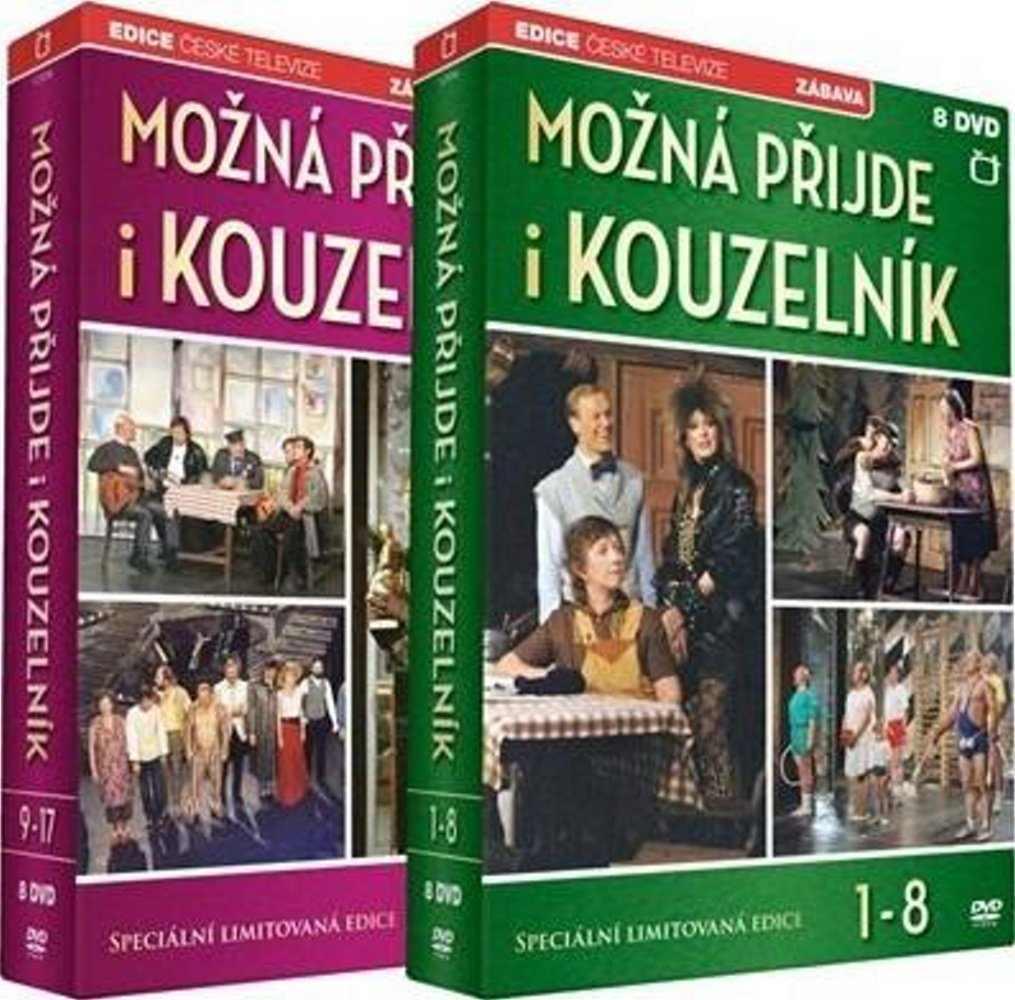 MOŽNÁ PŘIJDE I KOUZELNÍK - 16 DVD