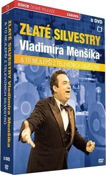 ZLATÉ SILVESTRY V. MENŠÍKA: TO NEJLEPŠÍ Z TELEVIZNÍCH SILVESTRŮ 8 DVD (MENŠÍK)