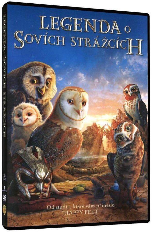 Legenda o sovích strážcích - DVD