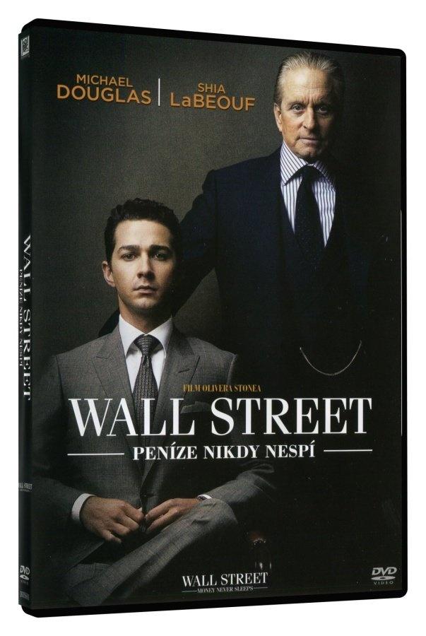 WALL STREET: PENÍZE NIKDY NESPÍ - DVD