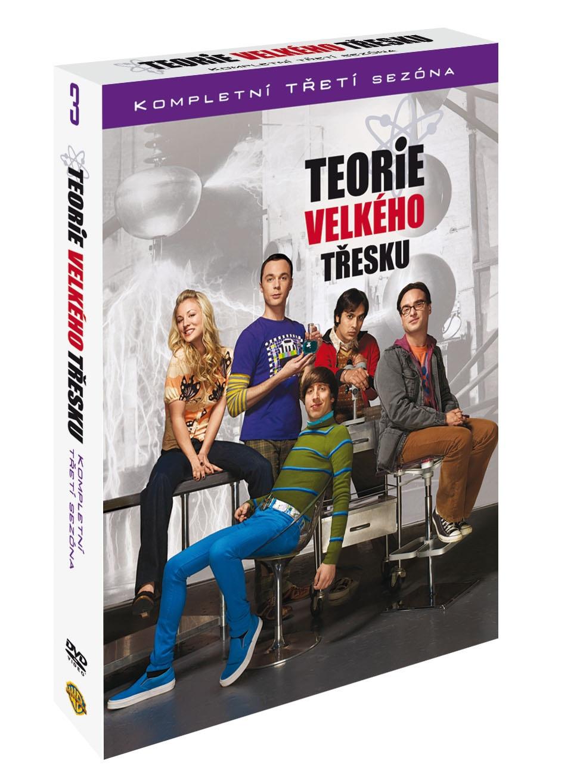 TEORIE VELKÉHO TŘESKU 3. SEZÓNA - DVD