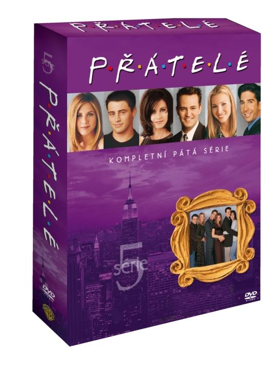 PŘÁTELÉ 5. SÉRIE - DVD