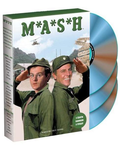 MASH (M.A.S.H.) - 3. SEZÓNA - DVD