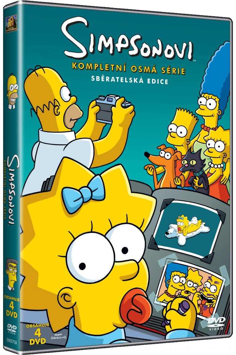 SIMPSONOVI 8. SEZÓNA - DVD