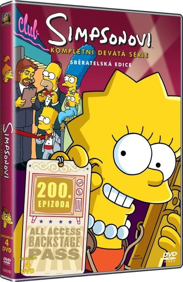 SIMPSONOVI 9. SEZÓNA - DVD