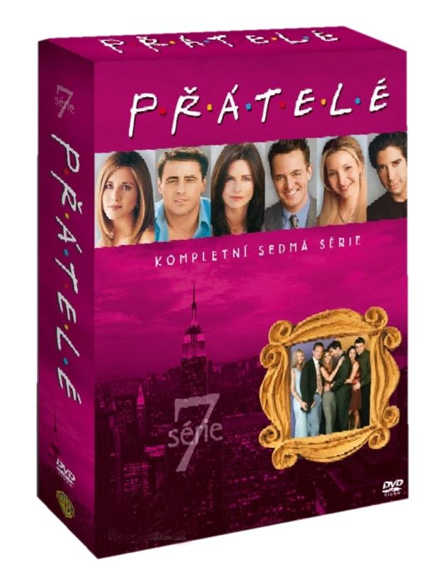 PŘÁTELÉ 7. SÉRIE - DVD