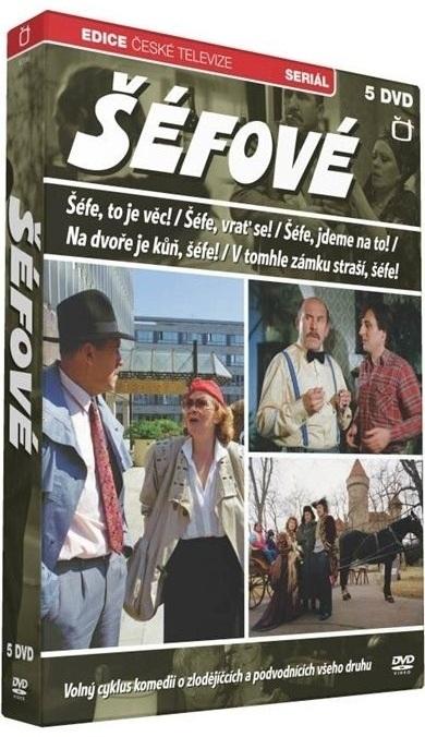 ŠÉFOVÉ - DVD ( 5 DVD )