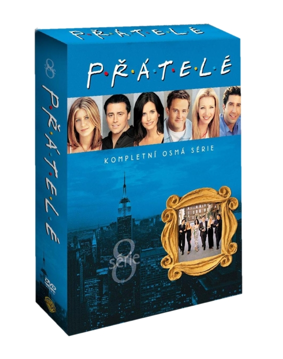 PŘÁTELÉ 8. SÉRIE - DVD