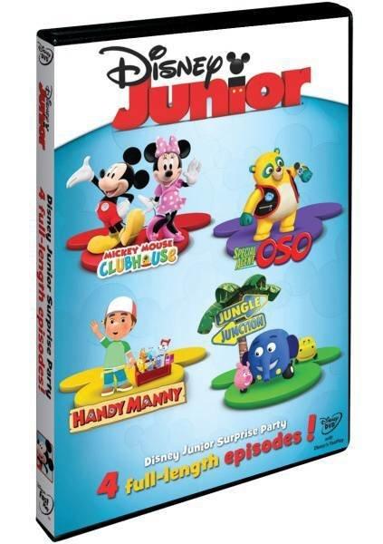 Disney Junior: Příběhy s překvapením - DVD