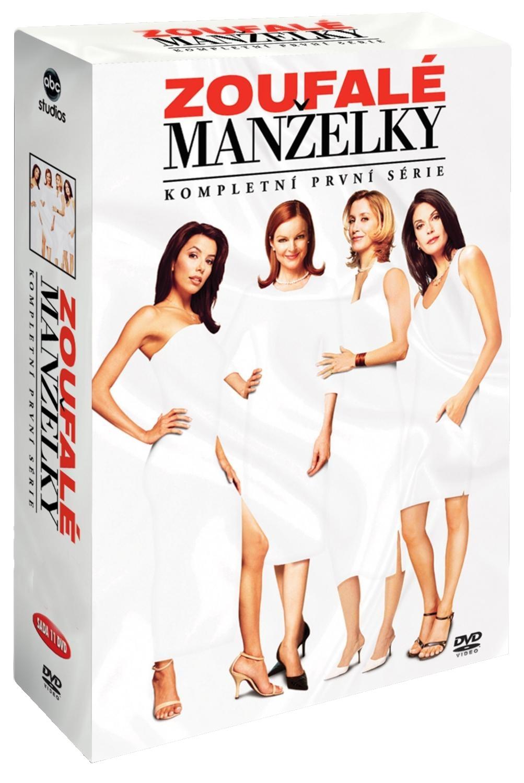 ZOUFALÉ MANŽELKY - 1.SÉRIE - DVD