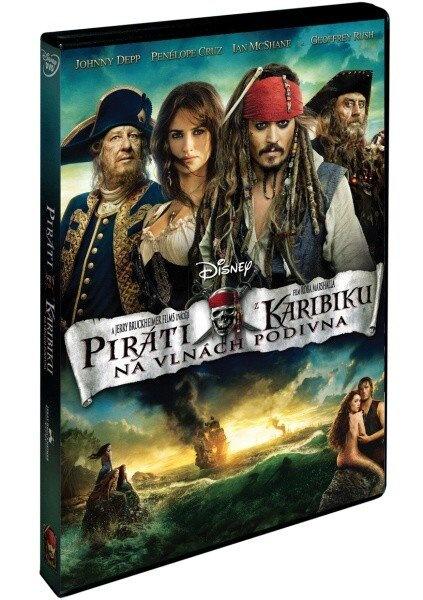 Piráti z Karibiku 4: Na vlnách podivna - DVD