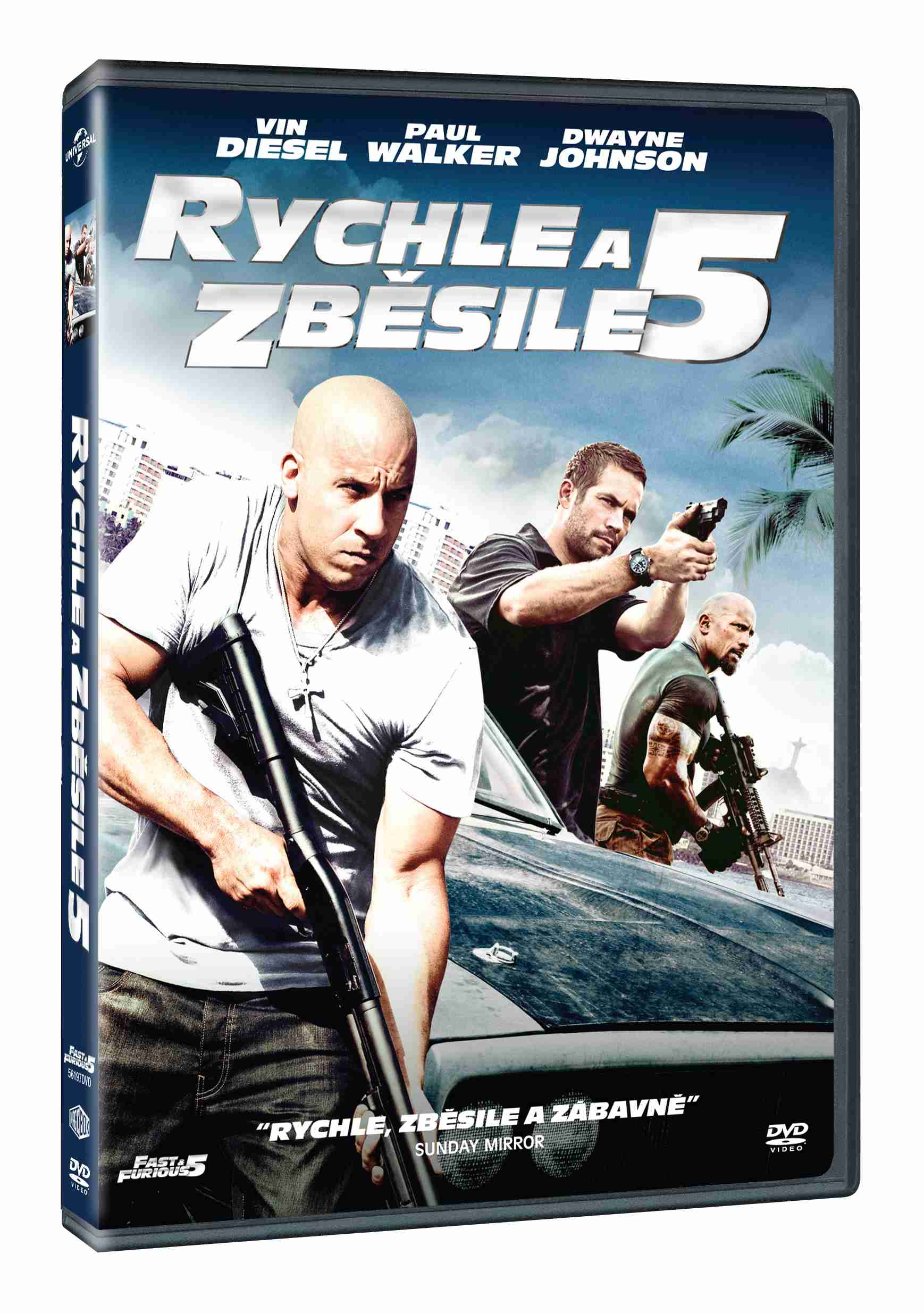 Rychle a zběsile 5 - DVD