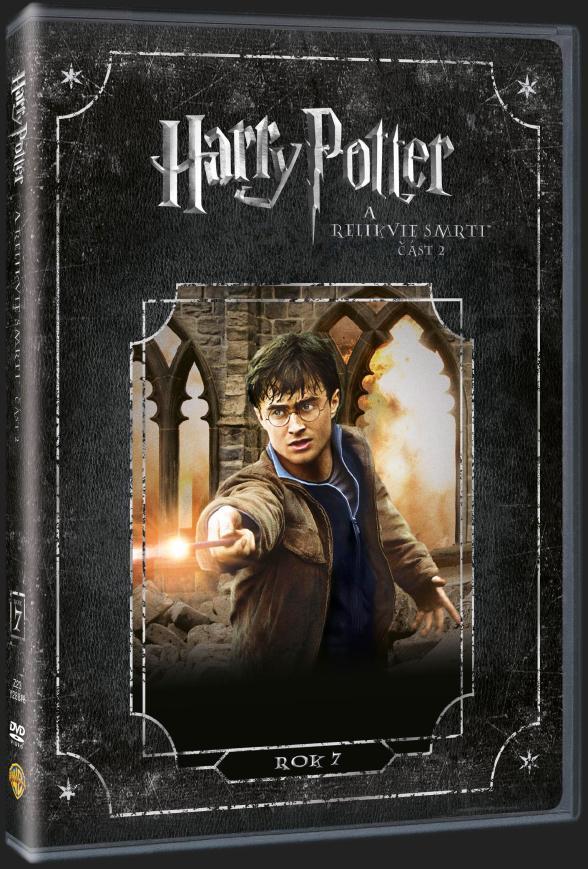 HARRY POTTER A RELIKVIE SMRTI 2. ČÁST - DVD