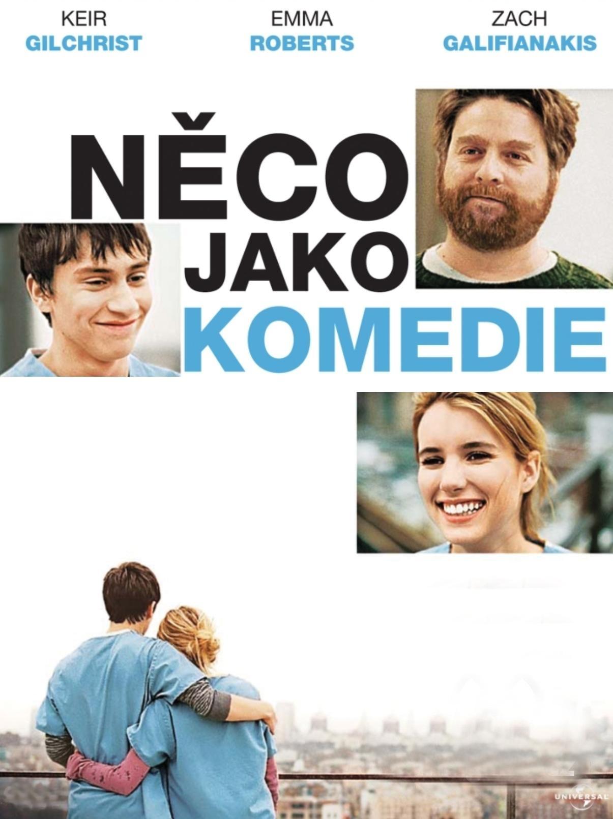 NĚCO JAKO KOMEDIE - DVD