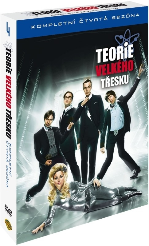 TEORIE VELKÉHO TŘESKU 4. SEZÓNA - DVD