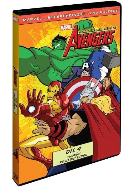 Avengers: Nejmocnější hrdinové světa 4 - DVD