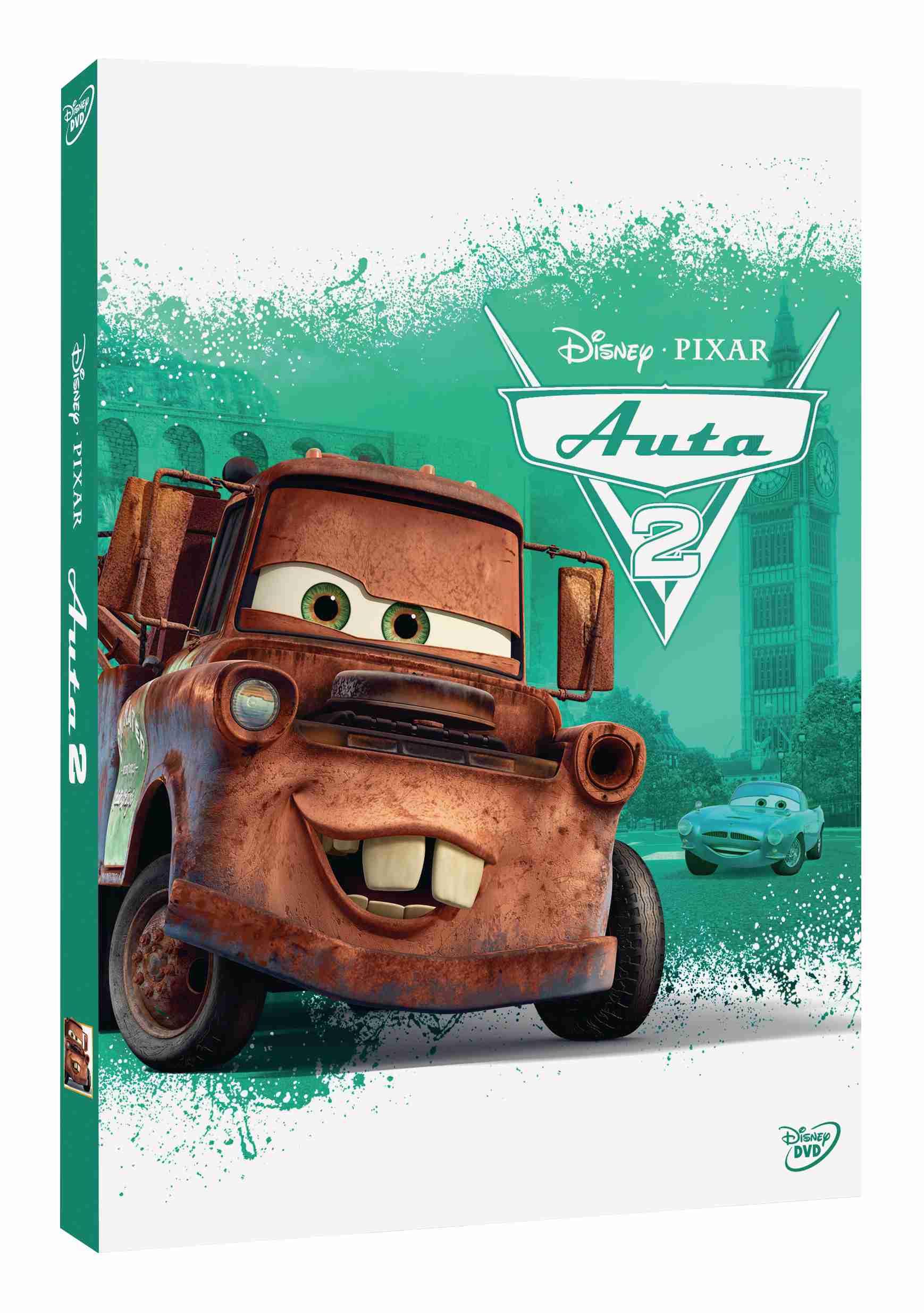 AUTA 2 (Cars 2) - DVD
