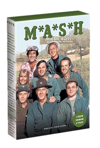 MASH (M.A.S.H.) - 4. SEZÓNA - DVD
