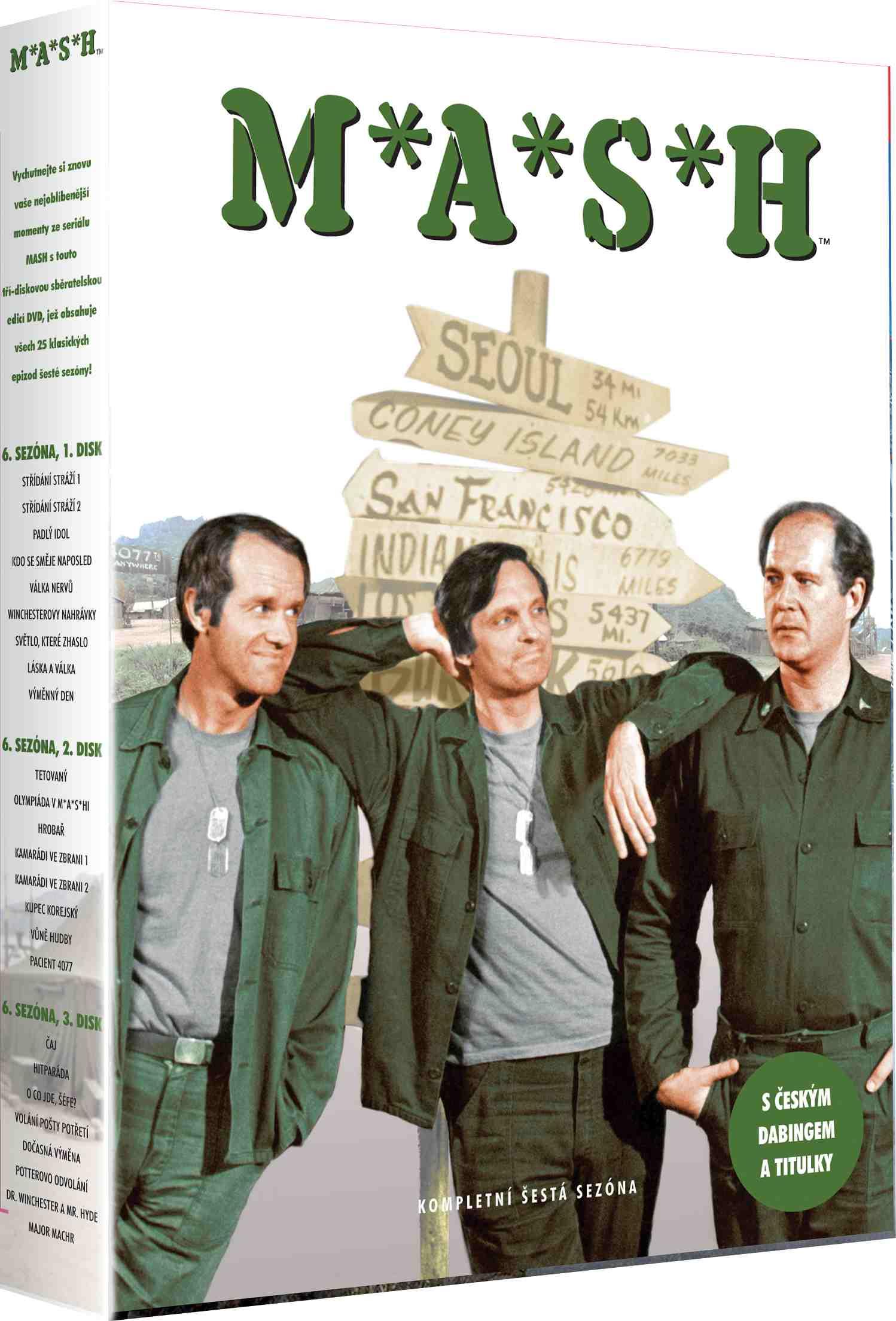 Mash (M.A.S.H.) - 6. série - DVD