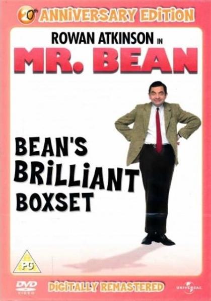 Mr. Bean kolekce - 4DVD (Remasterovaná verze)