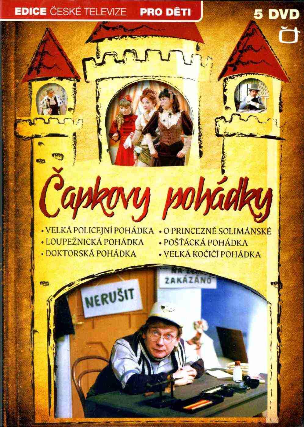ČAPKOVY POHÁDKY 5 DVD - DVD