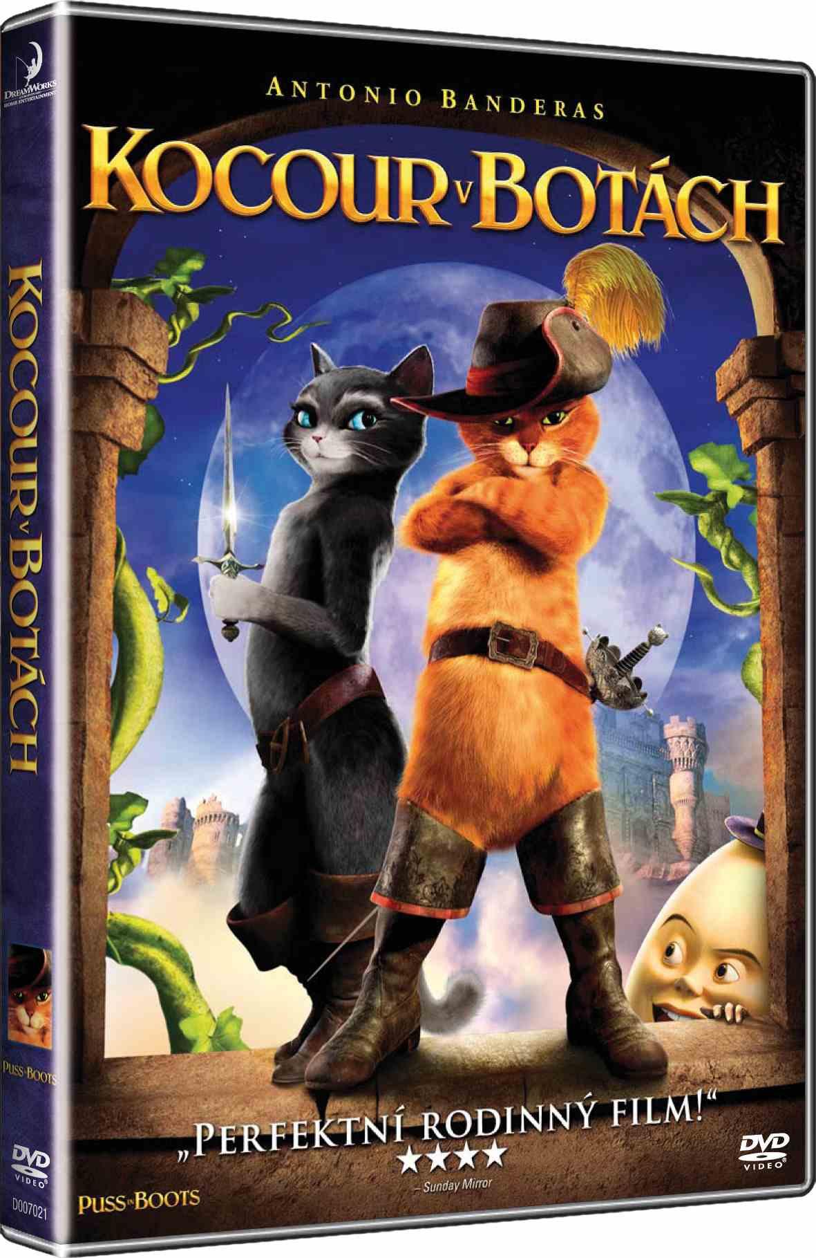 KOCOUR V BOTÁCH - DVD