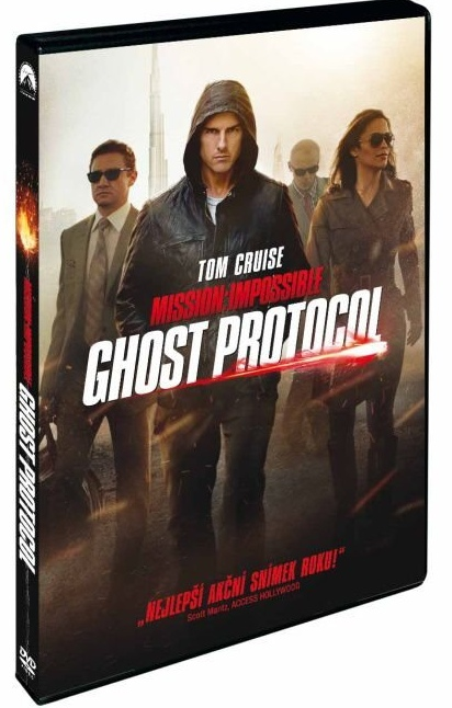 MISSION: IMPOSSIBLE 4 - GHOST PROTOCOL - DVD