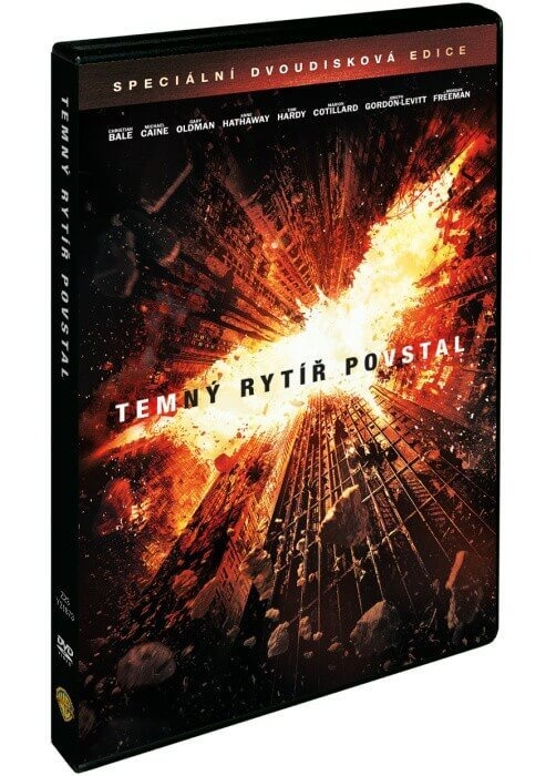 TEMNÝ RYTÍŘ POVSTAL (2 DVD) - DVD