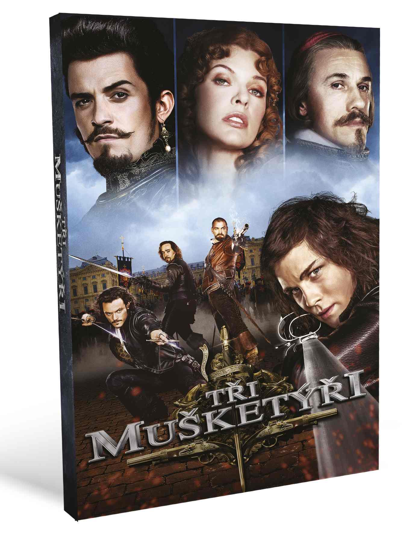 Tři mušketýři (2011) - DVD