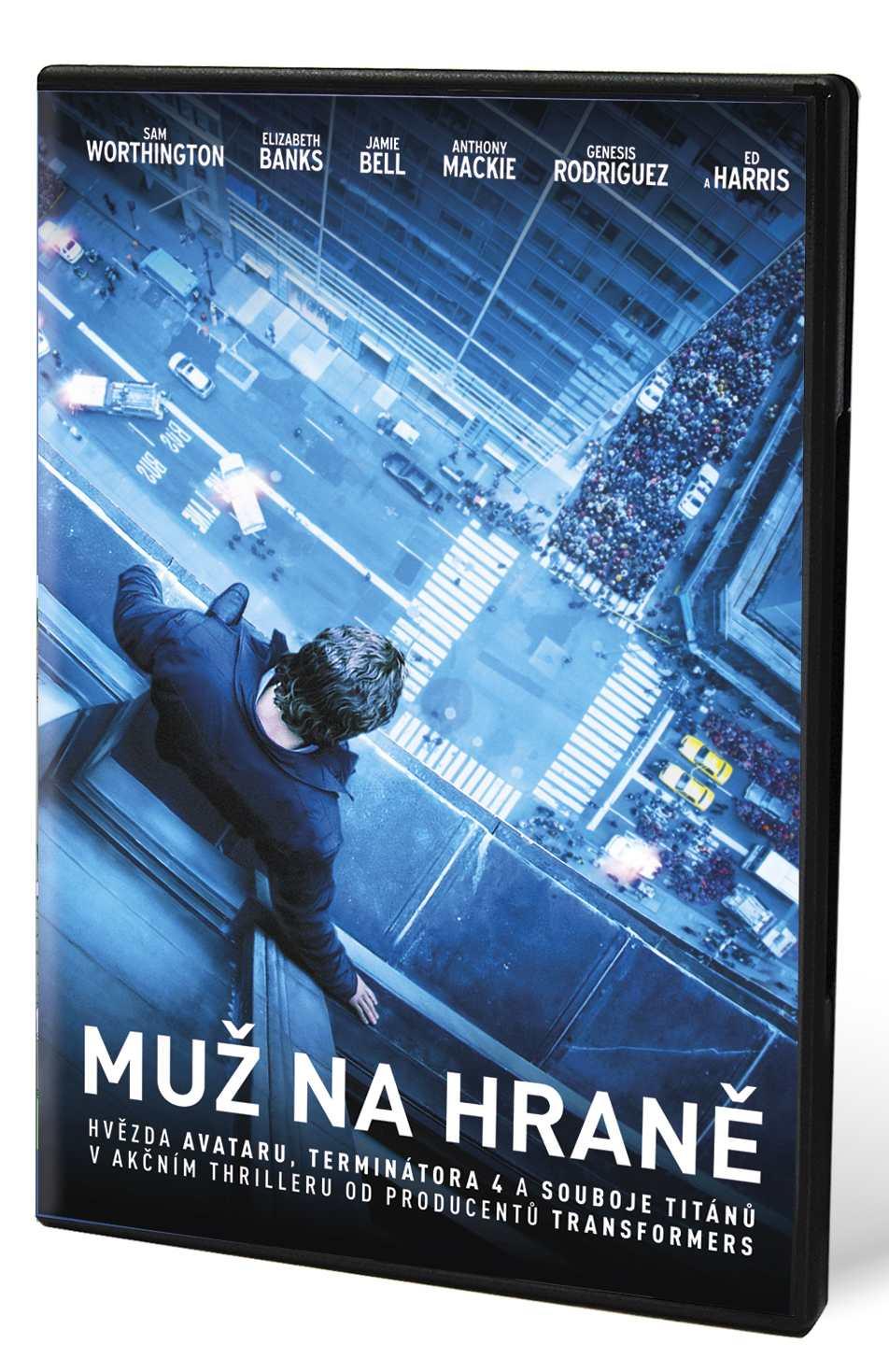 MUŽ NA HRANĚ - DVD