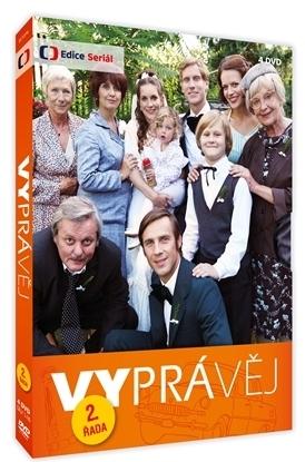 VYPRÁVĚJ - 2. ŘADA (8 DVD) - DVD