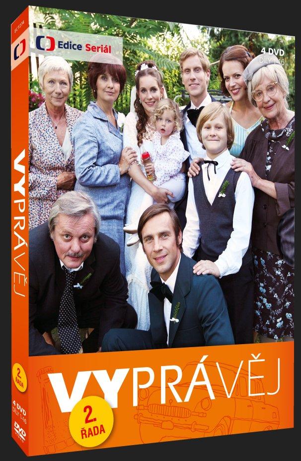 VYPRÁVĚJ - 2. ŘADA (4 DVD) - DVD
