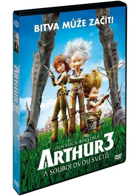 ARTHUR 3 A SOUBOJ DVOU SVĚTŮ - DVD