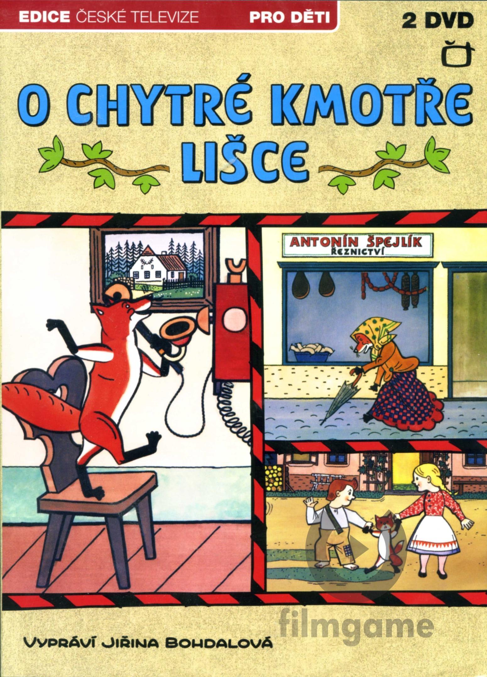 O CHYTRÉ KMOTŘE LIŠCE - DVD (2 DVD)