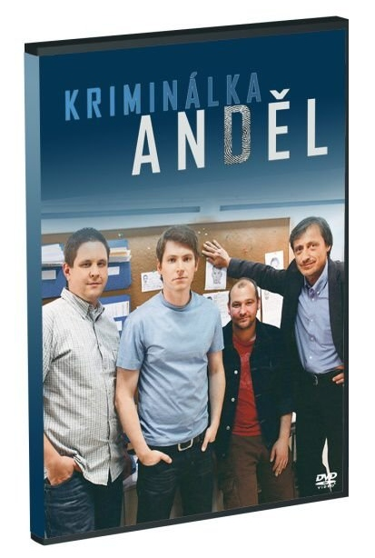 KRIMINÁLKA ANDĚL (3DVD) - DVD