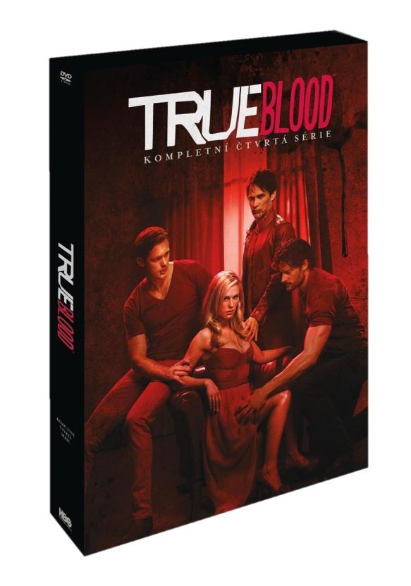 TRUE BLOOD - PRAVÁ KREV 4. SEZONA - DVD